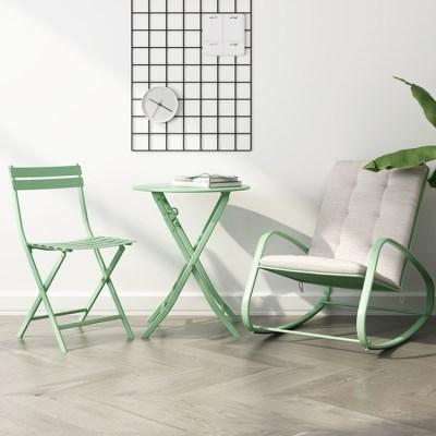 의자+흔들의자+테이블 set 모던 심플 탁자 의자 세트_(246804)