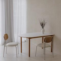 마리 이태리 호마이카 반타원형 테이블 식탁 5size_(1357754)
