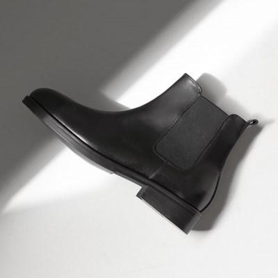 SC5101 소가죽 첼시부츠 튜닉 블랙 [245~280MM]_(1955171)