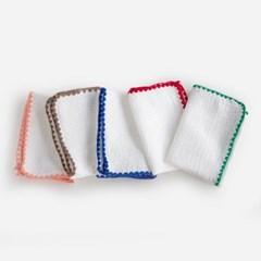 니코트 french stitch 키친크로스