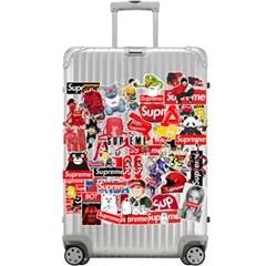 트래블 캠핑 노트북 여행가방 데코스티커 - 스트릿패션A+B - 105매