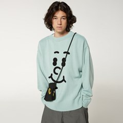 [FW20 SV X Sandomi Studio] Hucle Face Knit(Mint)_(794259)