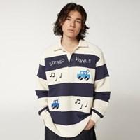 [FW20 SV X Sandomi Studio] Win blue Polo Shirts(Navy_(794270)