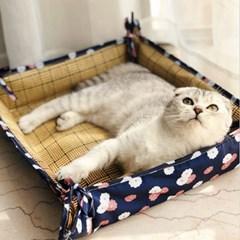 강아지 양면방석 쿨매트 사계절쿠션 애견 고양이 마약방석