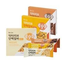 닥터리브 단백질바 3종(치즈맛/초코맛/플레인) 2박스(8개)