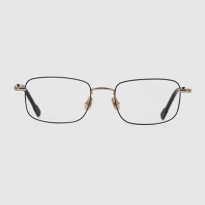 PASI gold-black 안경 블루라이트차단 베타 티타늄_(2397713)