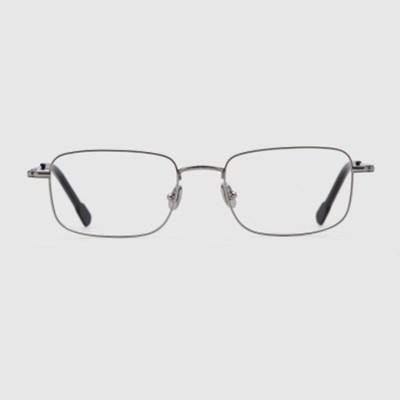 PASI silver 안경 청광차단 남자 베타 티타늄 사각_(2397712)