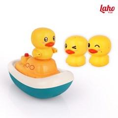 [라호] 해적오리 물놀이 장난감