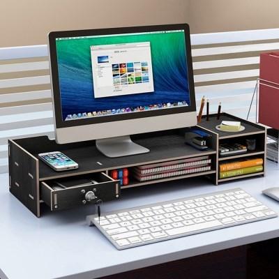 PH DIY 모니터 받침대 선반 책상정리 수납함 Z02-S