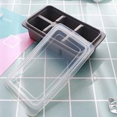 파스텔 6구 실리콘 얼음틀 1개(색상랜덤)