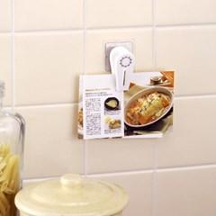 [LEC] 냉장고자석 메모홀더 접착보조판 [O-266]