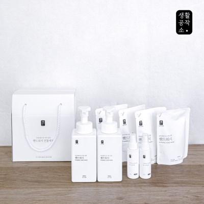 [생활공작소] 핸드워시+손소독제 선물세트