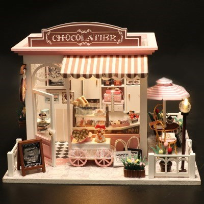 DIY 미니어처하우스 초콜릿하우스