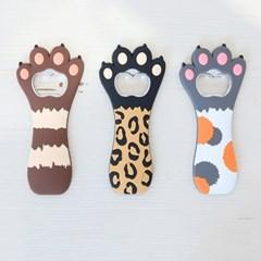 러블리 고양이 발 오프너 3color