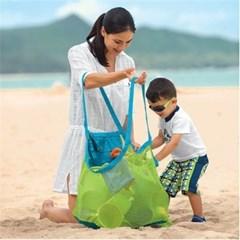 여행용 해변 물놀이 장난감가방 바구니