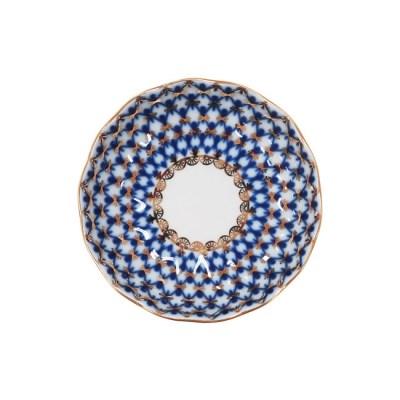 임페리얼 포슬린 코발트넷 튤립 잼 소서 10cm