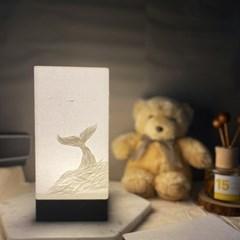LED 돌고래 핸드메이드 무드등 생일선물 외국인기념품 집들이선물
