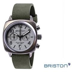 BRISTON 브리스톤 510S12VB 남성시계 가죽밴드 손목시계