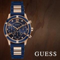 GUESS 게스 W1234L4 남성시계 우레탄밴드 손목시계