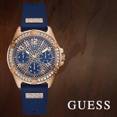GUESS 게스 W1160L3 여성시계 우레탄밴드 손목시계