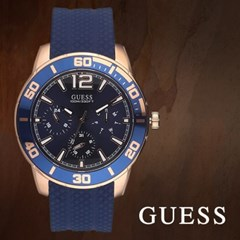 GUESS 게스 W1250G2 남성시계 우레탄밴드 손목시계