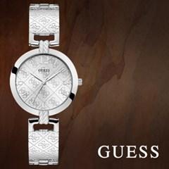 GUESS 게스 W1228L1 여성시계 메탈밴드 손목시계