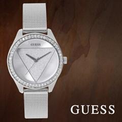 GUESS 게스 W1142L1 여성시계 메탈밴드 손목시계