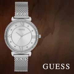 GUESS 게스 W1289L1 여성시계 메탈밴드 손목시계