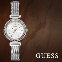 GUESS 게스 W1152L1 여성시계 메탈밴드 손목시계
