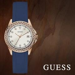 GUESS 게스 W1236L2 여성시계 가죽밴드 손목시계