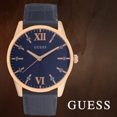 GUESS 게스 W1307G2 남성시계 가죽밴드 손목시계