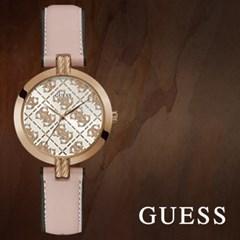 GUESS 게스 GW0027L2 여성시계 가죽밴드 손목시계