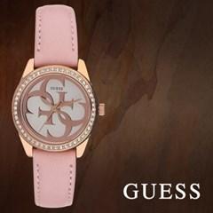 GUESS 게스 W1212L1 여성시계 가죽밴드 손목시계
