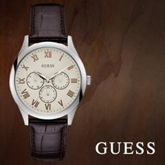 GUESS 게스 W1130G2 남성시계 가죽밴드 손목시계