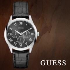 GUESS 게스 W1130G1 남성시계 가죽밴드 손목시계