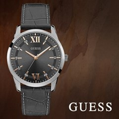 GUESS 게스 W1307G1 남성시계 가죽밴드 손목시계