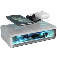 벨류텍 UV핸드폰살균기 및 무선충전기