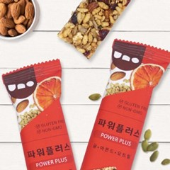 [우노] 파워플러스 견과바 1박스 (15봉)