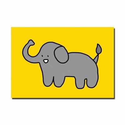 [눙눙이] 코끼리 코롱이 엽서