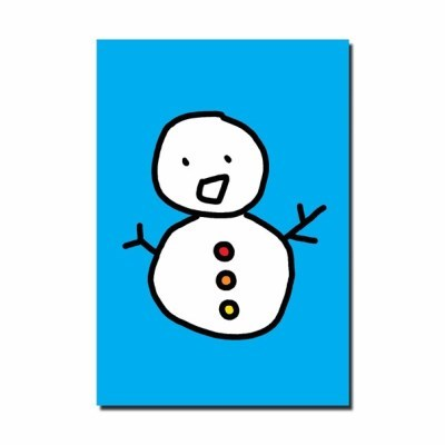 [눙눙이] 눈사람 눙눙이 엽서