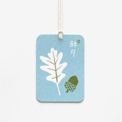 도토리와 잎 추석택(10개)