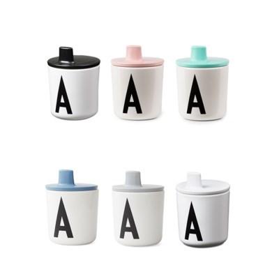 [디자인레터스] 이니셜 컵+빨대뚜껑 SET-옵션선택_(1128691)