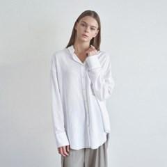 20FW stitch shirt - ivory