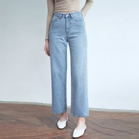 20FW wide denim pants