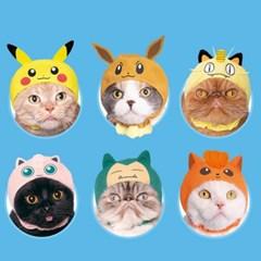 카와이이 네코 고양이모자 포켓몬스터1탄 캡슐토이