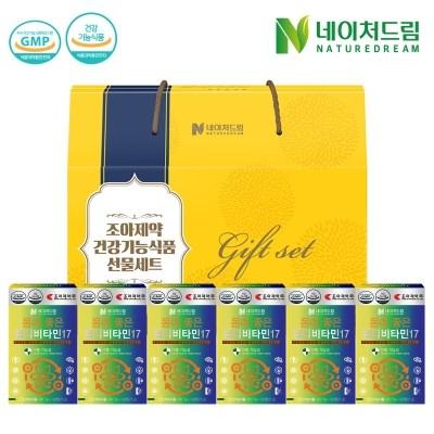 [조아제약] 멀티비타민 30정*6박스 [선물박스 증정]
