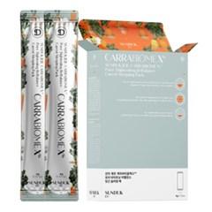 선덕제주 케라바이옴 엑스 당근 슬리핑팩(4gx12ea)