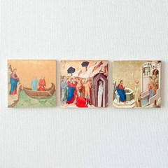 [BooKiss] 명화뜨레스 Duccio-크리스트 명화 미니액자
