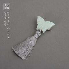 연옥 나비 노리개 (그레이)_(12855209)