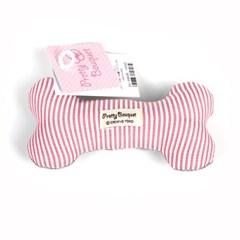 뼈다귀 봉제 장난감 (핑크)_(2912321)